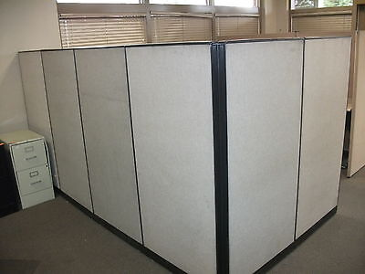 Office Cubicle Partitions Wall Divider Modular - USED