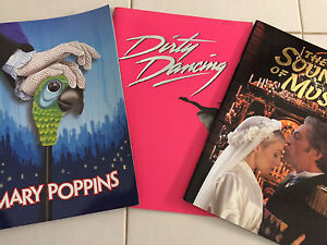 BOOKS (3) from past musicals Doncaster Manningham Area Preview