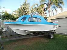 1985 Mustang boat half cabin,40 hp, good condition goes great Golden Beach Caloundra Area Preview