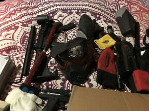 Awesome Deal Assorted Paintball Gear