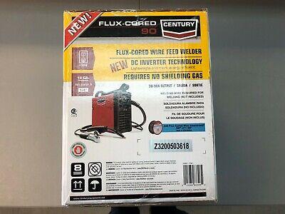 Century 90amp 120v Fc90 Flux Cored Wire Feed Welder Gun