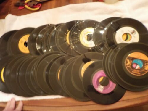 LOT OF 50 PLUS 45 RECORDS