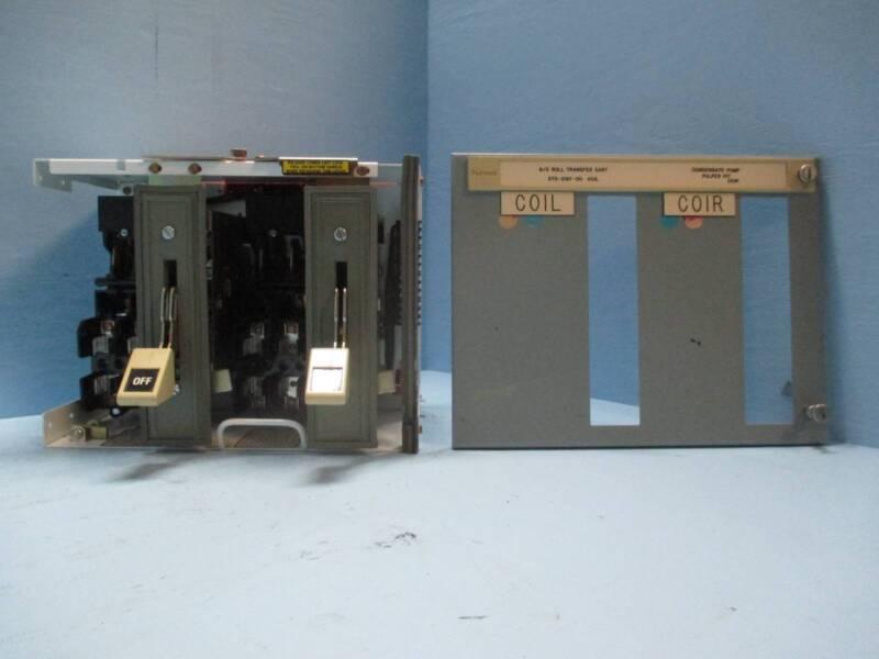 "Siemens Tiastar Furnas 89 30 Amp Fused Dual Feeder 12"" MCC MCCB Bucket 30A"