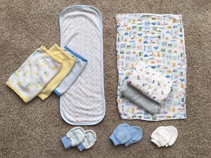 Baby cloths // No-Scratch Mitts