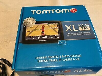 TOMTOM XL 335 SE MAP GUIDE LIFETIME TRAFFIC & MAPS EDITION