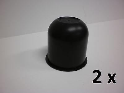 2 - Black Hub Center Cap 3.125 Trailer Camper Travel Truck Cover Rim Hubcap