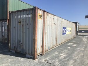45' storage containers for sale. SEA CANS.