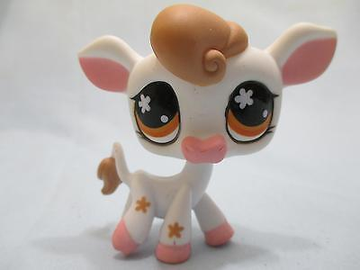 Cow Eye - Littlest Pet Shop Cow 476 Flower Eyes Authentic Lps