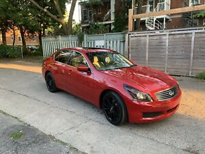 Infiniti G37X 2009 * legerement negociable **