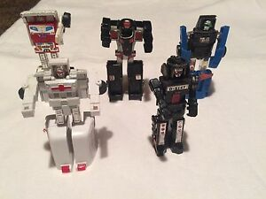 Vintage Gobots from the early 80s