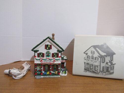 Dept. 56 1995 Snow Village Peppermint Porch Day Care #5485-2