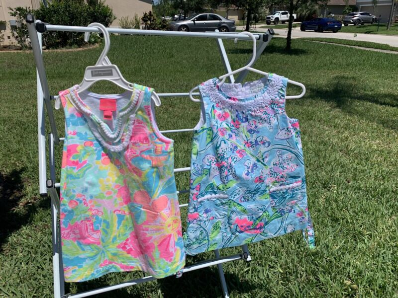 Lilly Pulitzer 2 dresses - Look New- For Toddler Sizes 2/3T & 3T