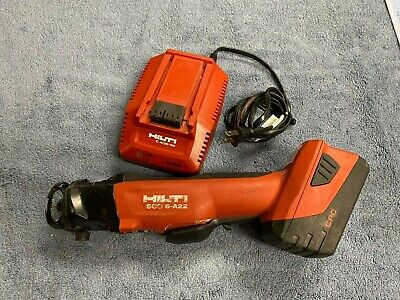Used Hilti Cordless Cut Out Tool Sco 6-a22 W Charger And 1 B22 5.2 Battery