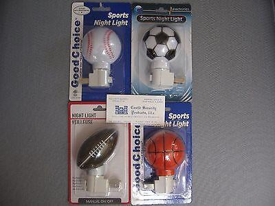 SOCCER BALL NIGHT LIGHT LED SOCCER BALL SPORTS THEME NIGHT LIGHT ~ FREE USA - Light Soccer Ball