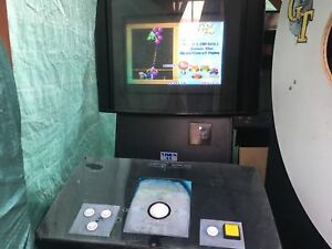 Coin operated vision 33 (3 games in one cabinet!