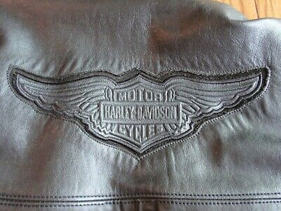 HARLEY DAVIDSON WILLIE G LEATHER JACKET USA XXXL REMOVABLE SLEEVES & LINING USA