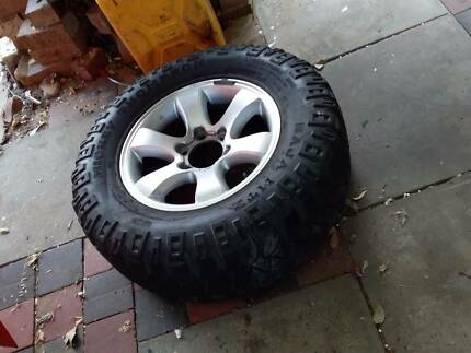 Mickey Thompson prado tyre Welshpool Canning Area Preview