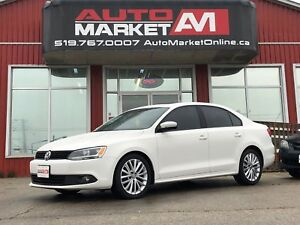 2011 Volkswagen Jetta Sportline, Leather, Sunroof, WE APPROVE AL