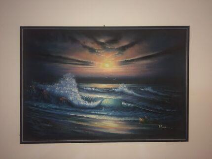 Sunrise/Sunset Original painting
