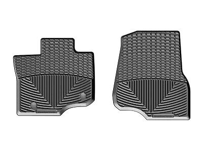 Weathertech All Weather Floor Mats For Ford F 150   2015 2018   Black