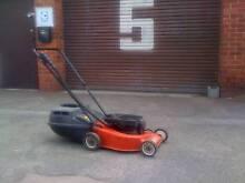 VICTA 2 stroke Lawn mower with catcher...starts 1st go... Bentleigh Glen Eira Area Preview