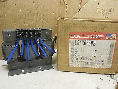 Baldor Line Reactor Transformer Lrac05502 3 Ph 600 V Volt 55 A Amp