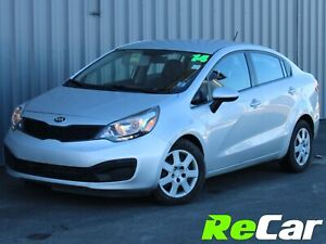 2014 Kia Rio LX+ HEATED SEATS | ONLY $45/WK TAX INC. $0 DOWN!