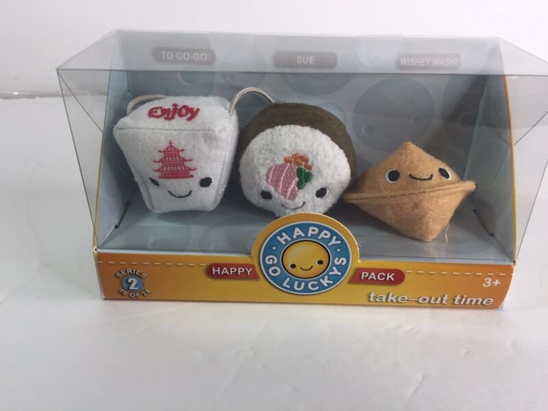 Hallmark Happy Go Luckys Happy Pack Series 2 Take out Time Sushi Fortune