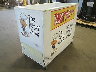Crosley H.d. Commercial Refrigerated Rolling Open Display Island Merchandiser