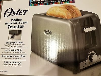 тостеров Oster 2-Slice Toaster with Retractable