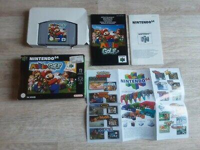 N64 Mario Golf Nintendo 64 OVP