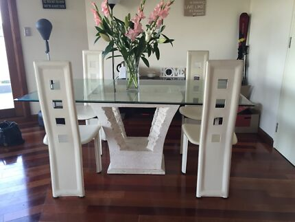Dining Table and Chairs Brookvale Manly Area Preview