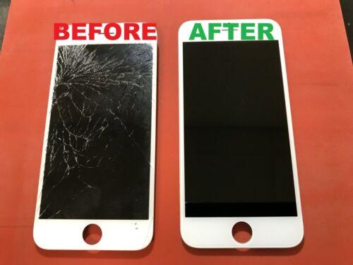 Iphone 6+ Plus Cracked Glass Broken Screen Repair Service Oem