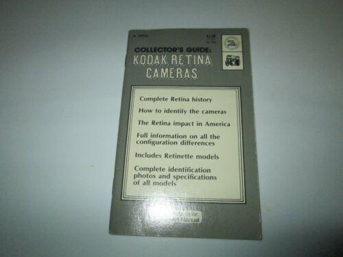 KODAK RETINA CAMERAS COLLECTORS GUIDE 1973 Spotlite Book No. 630
