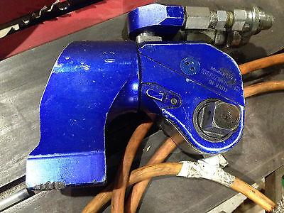 Bolttech Lw1 Hydraulic Torque Wrench 34 Sq Drive Bolttech-mannings 1282 Ft.lb.
