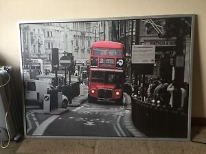 Red English Bus Print Lilyfield Leichhardt Area Preview