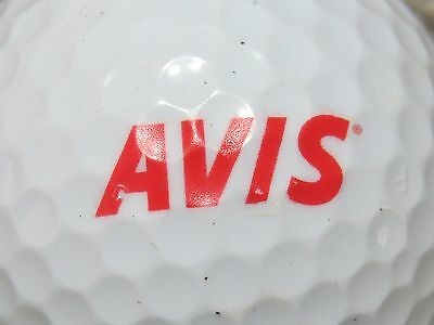 1  Avis Car Auto Vehicle Rental Logo Golf Ball