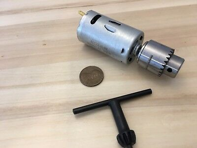 Dc 12v Electric Motor Small Pcb Hand Drill Press Drilling Keyless Chuck C23