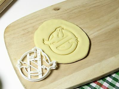 Ghost Busters Ghostbusters Cookie Cutter Cupcake Topper Fondant Gingerbread Ghost Cookie Cutter