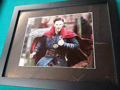 Benedict Cumberbatch Signed 8x10 Photo Framed with COA DR. Strange Marvel