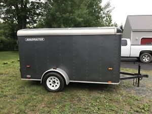 Roadmaster Enclosed 5x10 Cargo Utility Trailer Enfield
