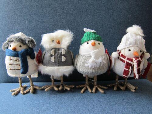 Target 2018 Christmas Featherly Friends Bird Wondershop Birchwood Bay Set 4