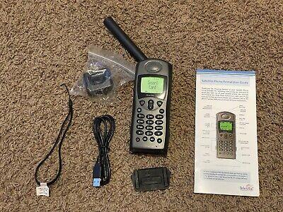 Iridium 9505A Satellite Phone - VERY GOOD+ w/ Accessory Bundle WORLD SHIP