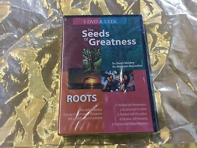 THE SEEDS OF GREATNESS ROOTS Family Program 1 Dvd & 5 Cd's New Sealed