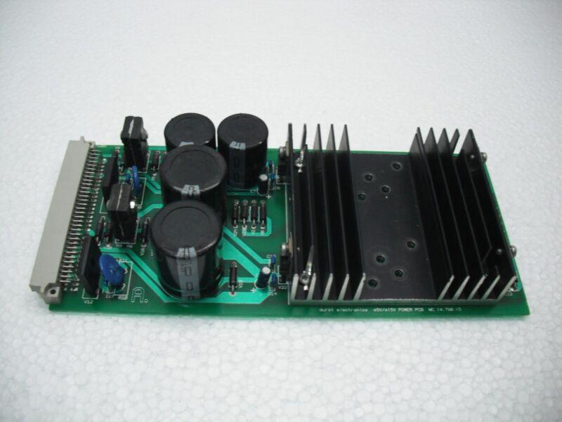 Durst Electronics +5v/-5.2v Power Pcb Mc 14.790.1d
