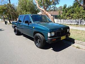 1996 Nissan Navara Dual Cab Ute 5spd Man 4cyl 2.4l Petrol Cromer Manly Area Preview