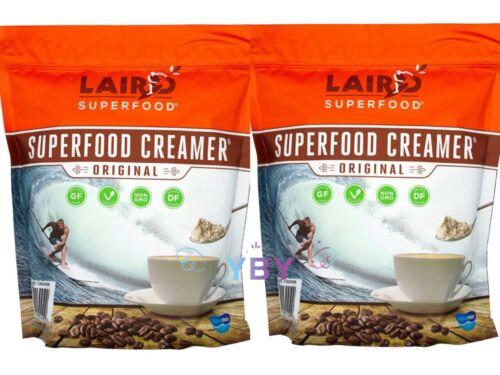 2 Packs Laird Superfood Original Superfood Creamer XL Bag 2 LB (32 oz) Each Pack
