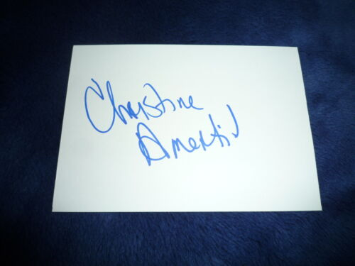 CHRISTINE AMERTIL signed Autogramm 10x15 cm In Person  WM 2009 Silber 4x100m