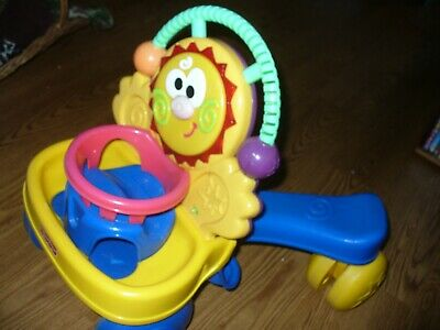 Fisher-Price Go Baby Go! Stride-to-Ride Sun Walker and Ride-On Basketball