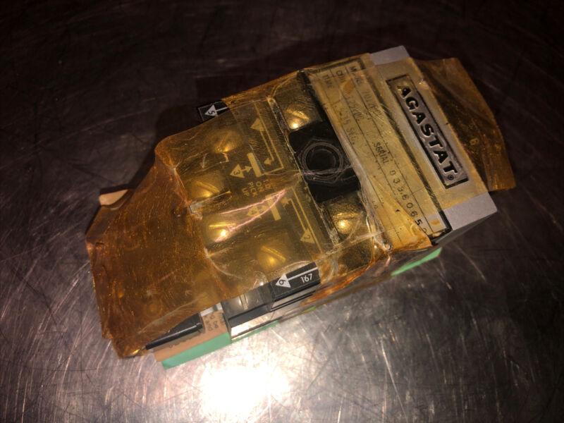 NOS Agastat Time Delay Relay 7012PCL 120/240VDC W 4731937 1.5-15SEC 600VAC 30VDC